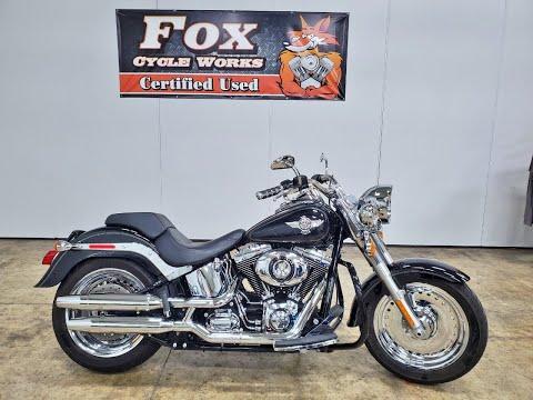 2013 Harley-Davidson Softail® Fat Boy® in Sandusky, Ohio - Video 1