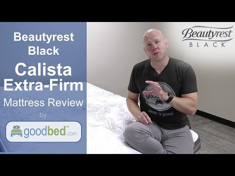 Simmons Beautyrest Black Calista Extra Firm Mattress Review (VIDEO)