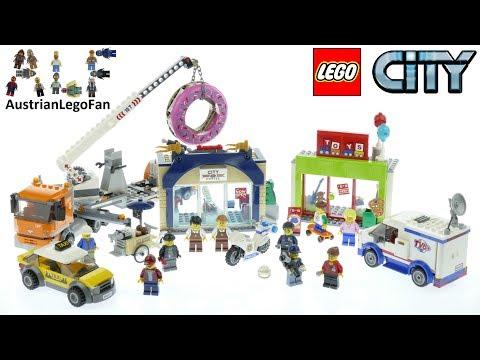 Vidéo LEGO City 60233 : L'ouverture du magasin de donuts