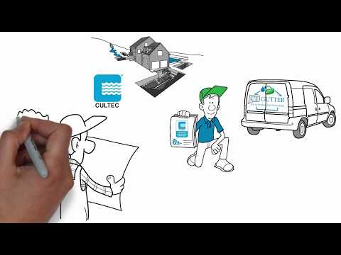 This whiteboard animation gives an explanation Connecticut Stormwater Authority's areas of specialization: rain gutter systems and...