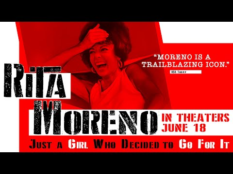 Youtube video still for Rita Moreno: Just A Girl Who Decided To Go For It