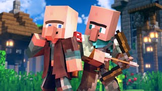 SAVE THE VILLAGE - Alex and Steve Life (Minecraft Animation)