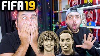 6 İKON ÇIKTI! RONALDINHO-GULLIT VE DAHASI! | FIFA 19 FUTDRAFT