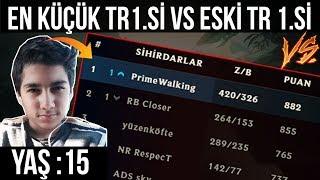 15 YAŞINDA TR CHALLENGER 1.Sİ vs ESKİ TR 1.Sİ | LoL Pit
