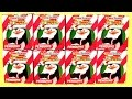 SURPRISE Penguins of Madagascar Choco Treasure Surprise Christmas Eggs Holiday Edition