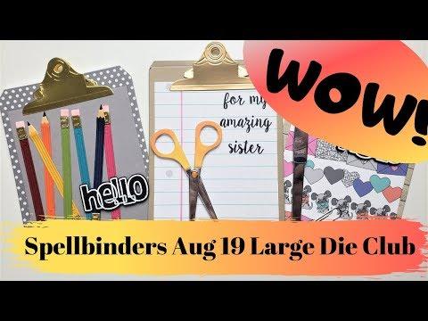 My Favorite Die Kit So Far!!! Spellbinders Large Die Kit of the