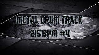 Fast Metal Drum Track 215 BPM | Preset 2.0 (HQ,HD)