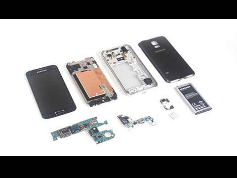 Complete S5 Mini teardown/disassembly