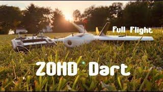 ZOHD Dart FPV Wing Footage