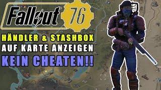Fallout 76   Händler und Stashboxen auf der Map anzeigen   PS4