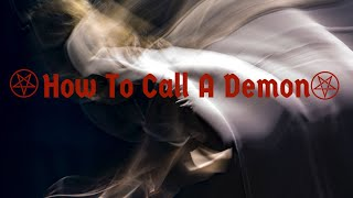 How To Call Demonic Energy! Getting to know A Demon! #Demons #Offerings #Blackwitch