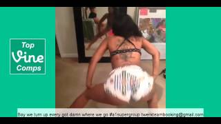 Official Twerk Team Vine Compilation 2015 - With Captions