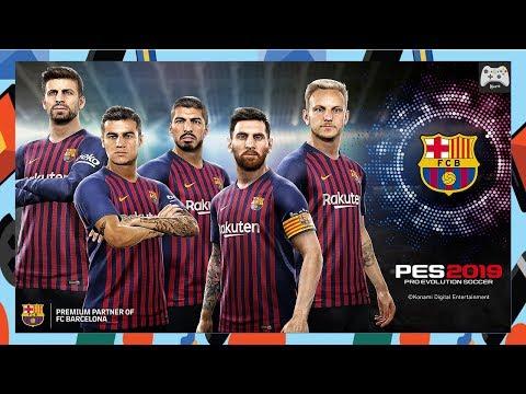 PES2019 - Special Barça  | PPSSPP