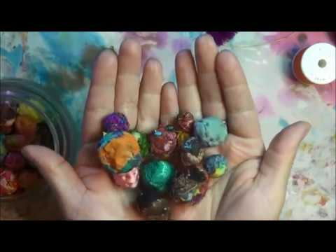 How To : Fabric Beads Ball's