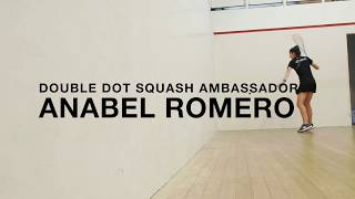Anabel Romero signs with Double Dot Squash