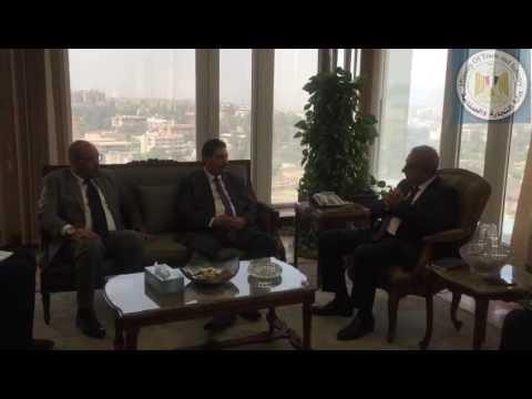 لقاء المهندس/طارق قابيل وزير التجارة والصناعة مع الأمير/ تركى بن عبد العزيز آل سعود