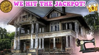 Abandoned Mansion Filled With Antiques (Wait Until You See This!)