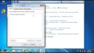 Volume Problem Speaker Muted Windows 7