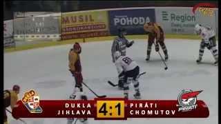 preview picture of video 'Záznam SF3 HC Dukla Jihlava - Piráti Chomutov'