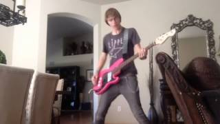 Twist me to the left bass cover