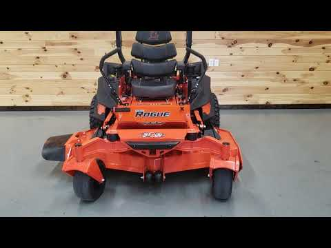 "2019 Bad Boy Mowers Rogue 61"" with 27hp Kawasaki in Saucier, Mississippi - Video 1"