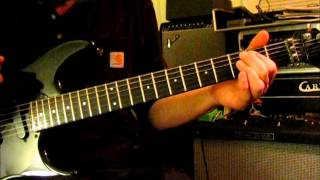 Beating Around The Bush AC DC GUITAR LESSON