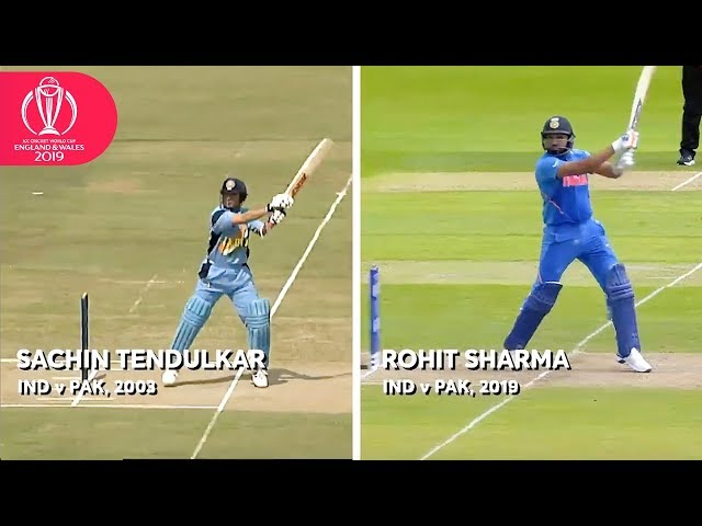 Sachin Tendulkar v Rohit Sharma! | ICC Cricket World Cup 2019
