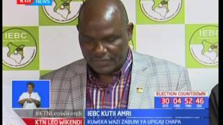 IEBC yatangaza itaweka wazi zabuni ya uchapishaji wa karatasi za kupiga kura
