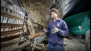 16. Laminating timbers into an old yacht / Cornish Projects - Rebuilding Tally Ho EP16