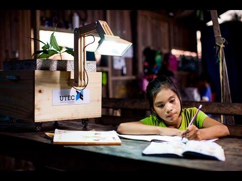 Planta lámparas UTEC, plantas que dan luz
