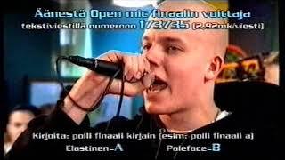 Jyrki Open Mic 3: Elastinen Ja Paleface