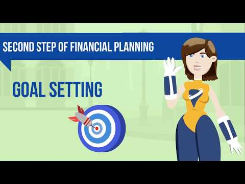 Second Step Of Financial Planning -Goal Setting