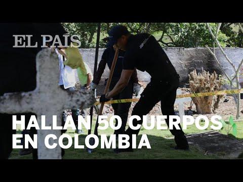 Encuentran 50 cadaveres en fosa comun en Colombia