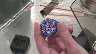 Beginner Lampworking: Murrini Encasement