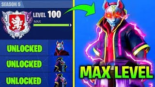 FASTEST WAY TO UNLOCK MAX LEVEL DRIFT IN FORTNITE SEASON 5  (HOW TO UNLOCK MAX LEVEL DIRFT ARMOR)