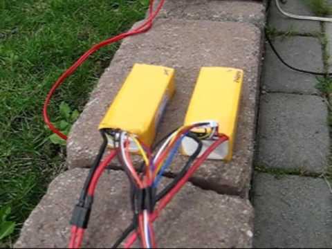 Lade 2 lipo batterier samtidig. (MFN) ModellflyNytt.no