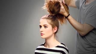 The Messy bun tutorial – H&M life