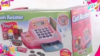 """Супермаркет: кассовый аппарат, продукты - свет , звук от компании Интернет-магазин """"Timatoma"""" - видео"""