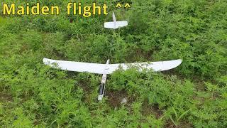 Build & maiden flight of U-glider