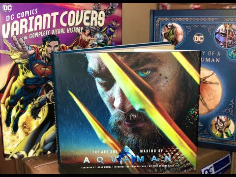 "Aquaman ""The Art & Making Of"" Book Unboxing by DC World"