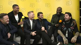 Boyzone Catch up with Rickie and Melvin Backstage