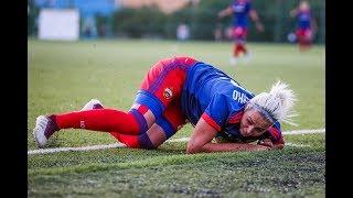 Травмы в женском футболе  Жесткая тренировка  Серия 5