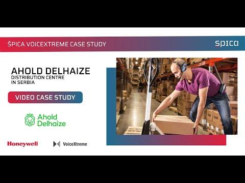 Delhaize smanjio greške pri komisioniranju i povećao produktivnost u saradnji sa kompanijom Špica i Honeywell Voice timom