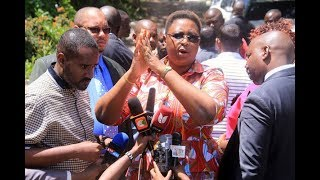 Jumwa handed lifeline in ODM row - VIDEO