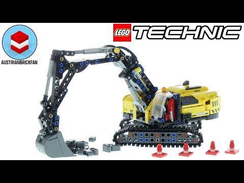 Vidéo LEGO Technic 42121 : Pelleteuse