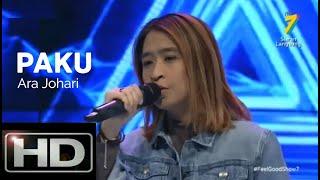 [Live] Ara Johari - Paku [Lirik]