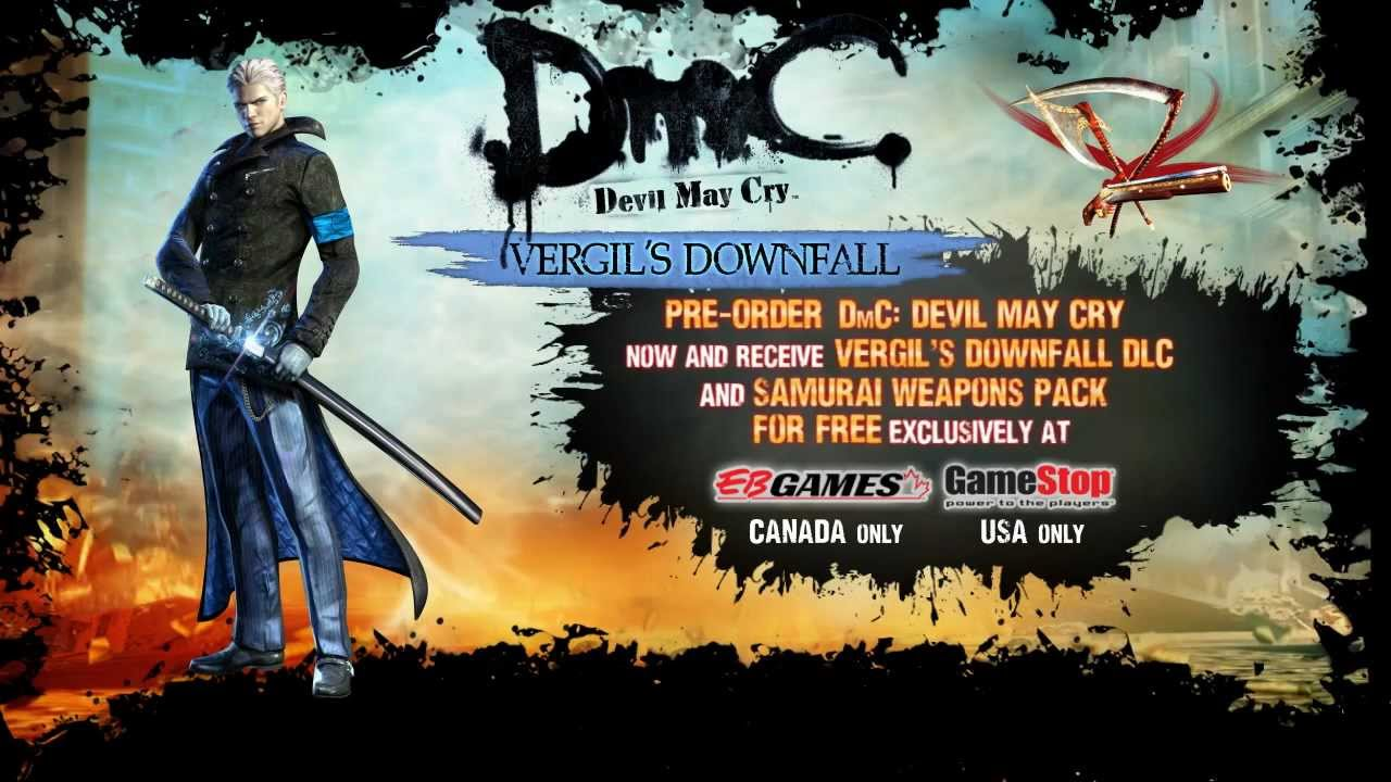 Devil May Cry DLC Will Let You Play Dante's Twin Brother