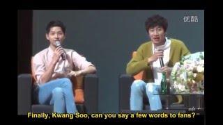 [Eng] Song Joong Ki: Seoul FM fan-meeting 17.04.2016 - Lee Kwang Soo part