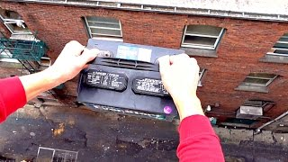 What Will Happen if Car Battery Dropped From 100FT?? - WillitBREAK?