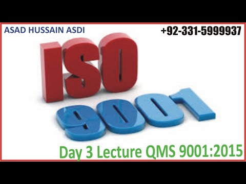 Day Three Lecture ISO 9001:2015 QMS Lead Auditor Course, Best ...